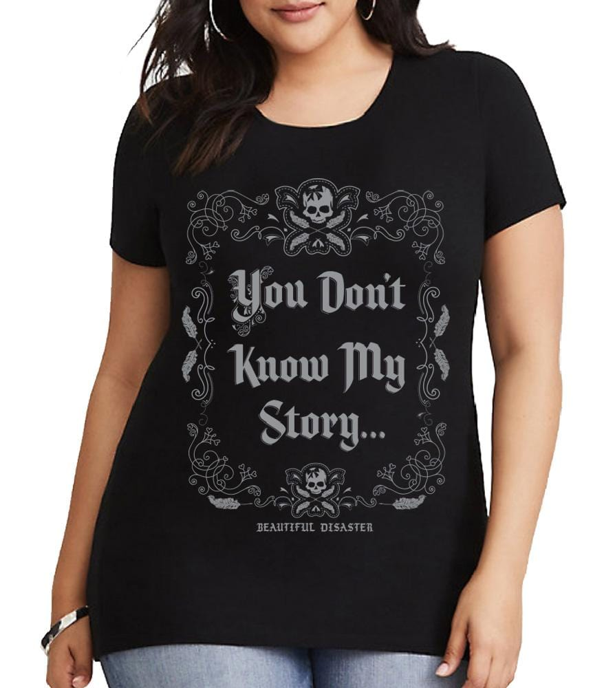 You Don't Know My Story Scoop Tee
