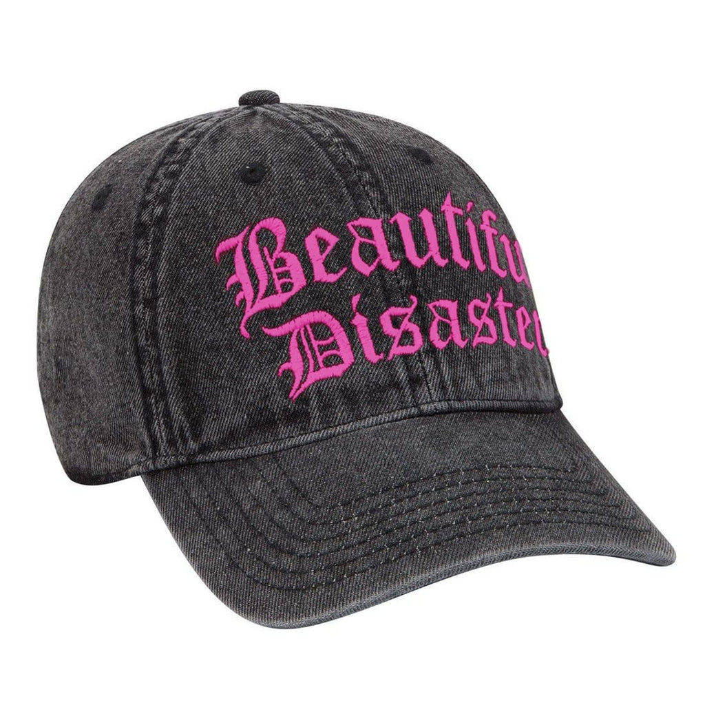 Punk Princess Dad Hat Charcoal/Pink
