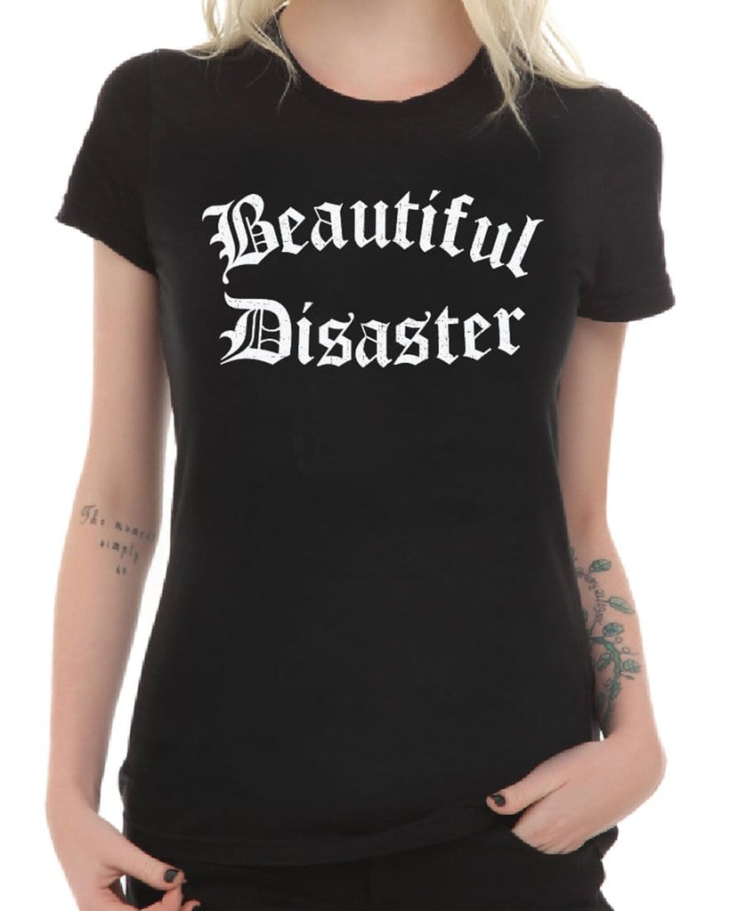 Beautiful Disaster Scoop Tee