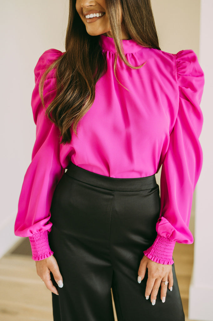 Shimmery Black Gown