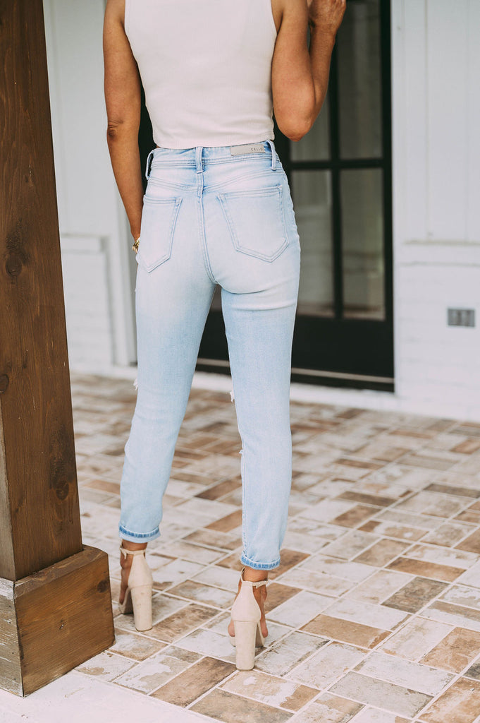 Denim Suspender Jumpsuit
