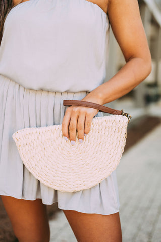 Straw Wedge Clutch