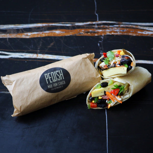 FIESTA BREAKFAST WRAP (VG)