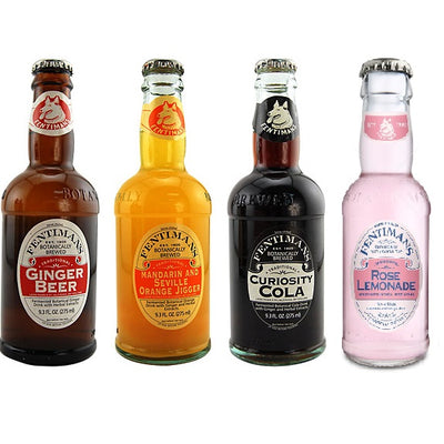 FENTIMANS BOTANICALLY BREWED DRINKS - Peqish