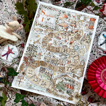 Load image into Gallery viewer, Personalised Christmas Advent Print