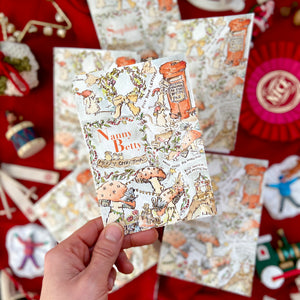 Personalised Christmas Cards Pack of Six