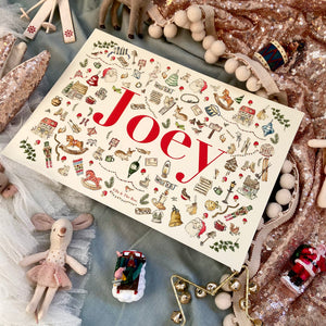 Personalised Christmas Name Print
