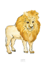 Load image into Gallery viewer, Lion Print