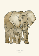 Load image into Gallery viewer, Elephant Print
