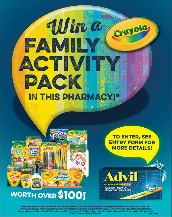Win-with-advil-liquid-caps-crayola-kids-activity-pack