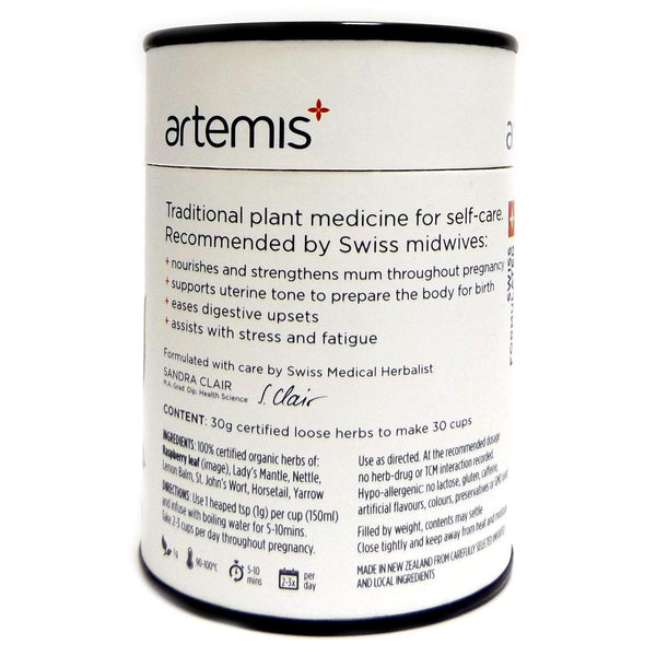 Simply Pharmacy Albany,Artemis Pregnancy Tea 30g