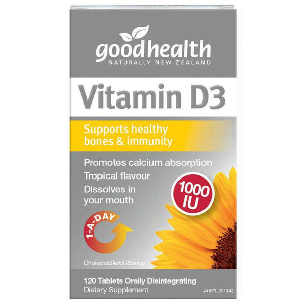 Simply Pharmacy Albany,Good Health Vitamin D3 1000IU 120tabs