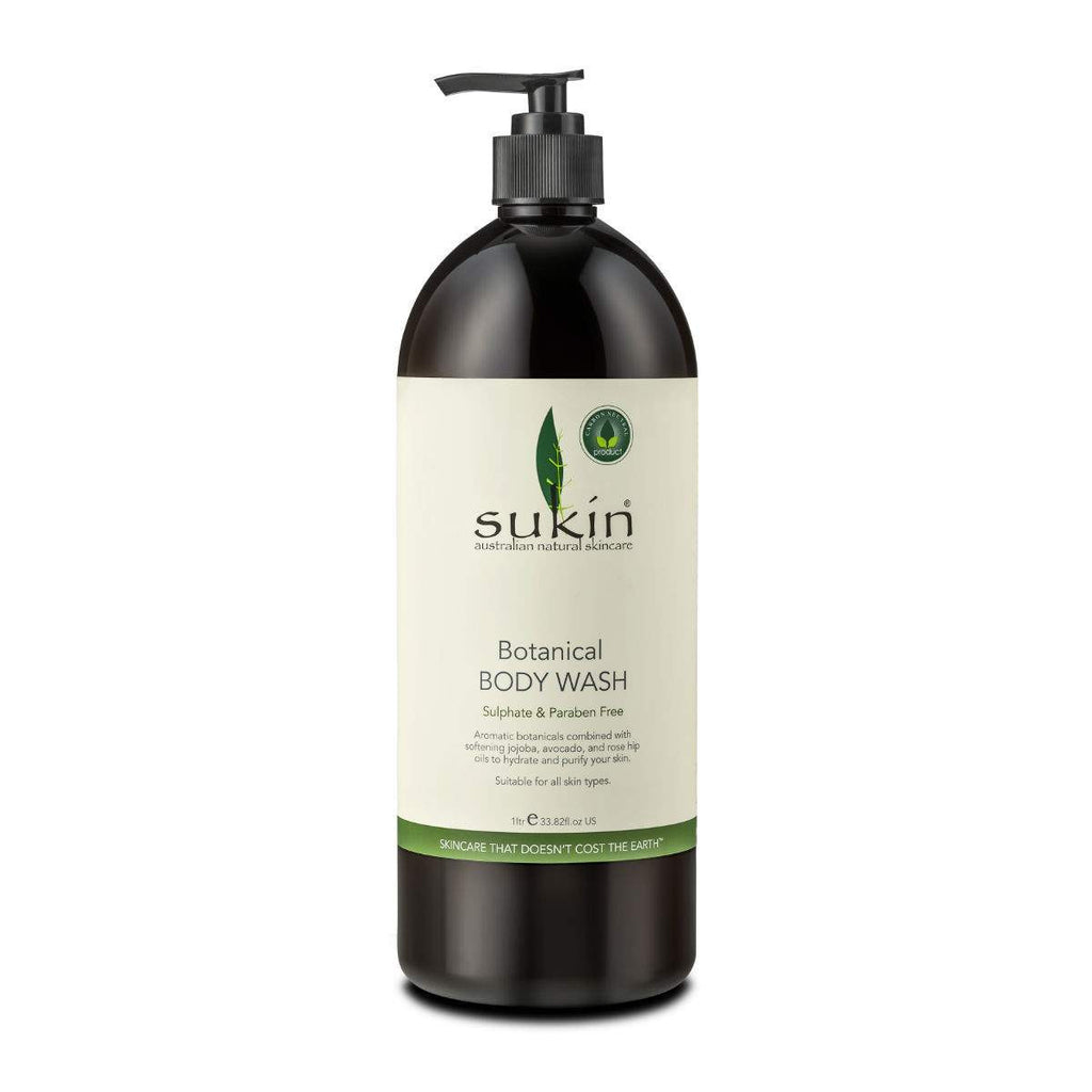 Simply Pharmacy Albany,SUKIN BOTANICAL BODY WASH PUMP 1L