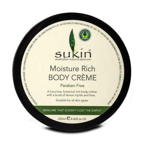 Simply Pharmacy Albany,SUKIN MOISTURE RICH BODY CREME 250ml