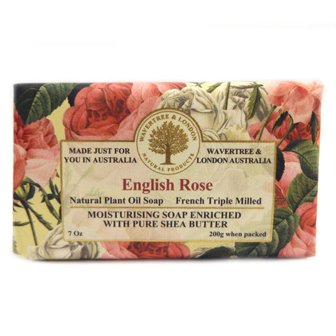 Simply Pharmacy Albany,Wavertree & London Soap English Rose 200g