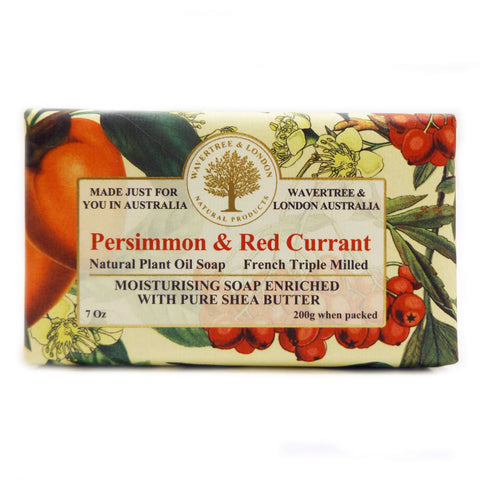 Simply Pharmacy Albany,Wavertree & London Soap Persimmon & Red Currant 200g