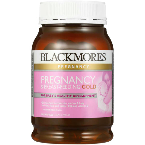 Simply Pharmacy Albany,Blackmores Pregnancy & Breastfeeding Gold 180caps