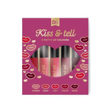 Simply Pharmacy Albany,Designer Brands Kiss & Tell Matte Lip Colour Set