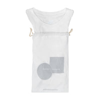 WOMAN BASIC BOXY - WHITE