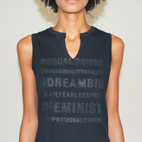 Women's Equal Power Tank - Black