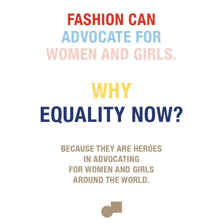 We support Equality Now