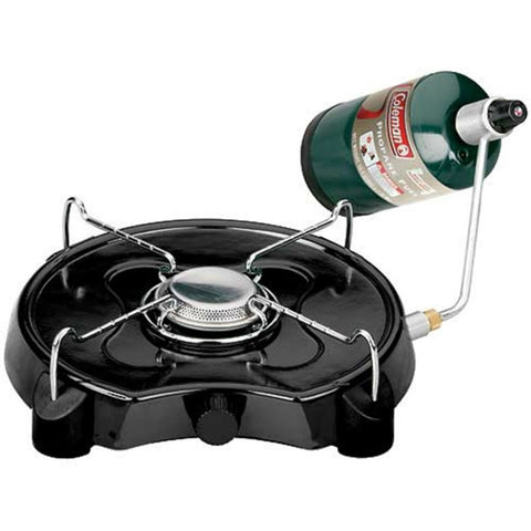 Emergency and outdoor single burner propane stove
