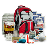 Five day emergency back pack with food