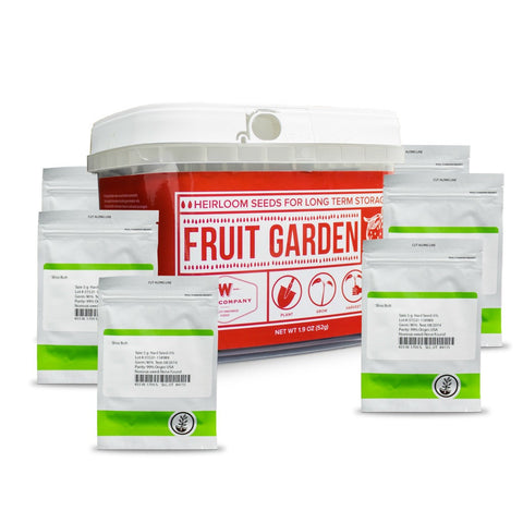 Non-hybrid seeds for fruit garden