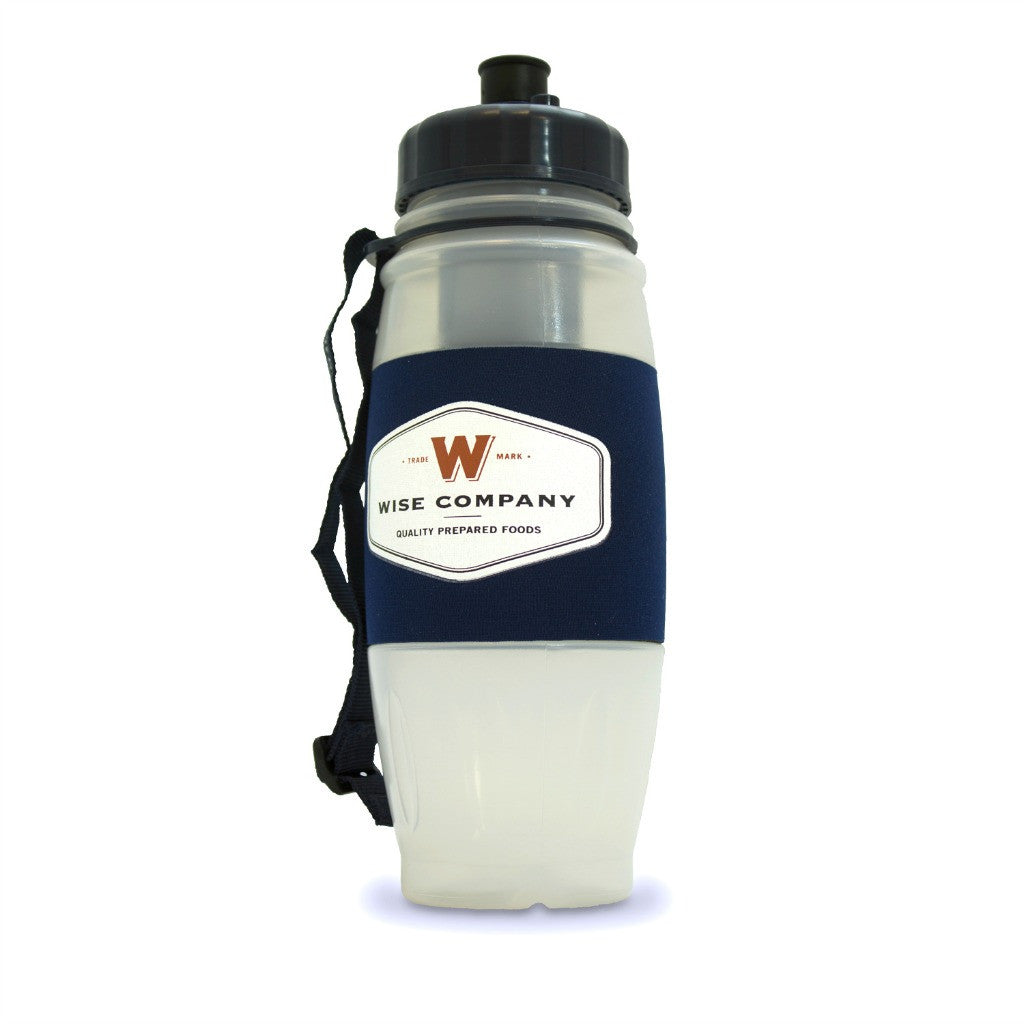 Easy to use water bottle with filter for clean water