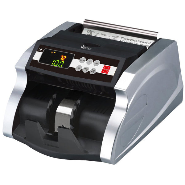 G-Star Technology Money Counter With UV/MG Counterfeit Bill Detection (Deluxe)