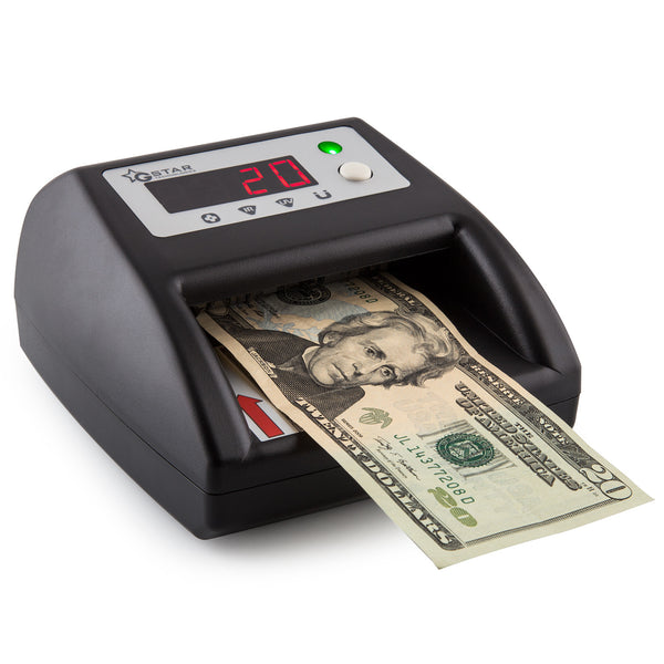 G Star Technologies Counterfeit Bill Money Detector Counter with UV/MG/IR/IM Detection