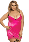 Plus Size Ruthie Chemise - Pink