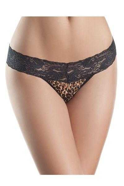 Leopard and Lace Panty