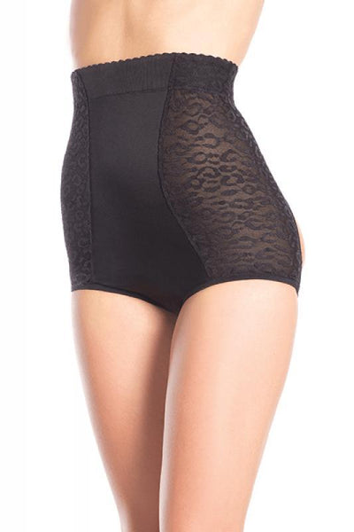 High Waist Body Shaper - Black