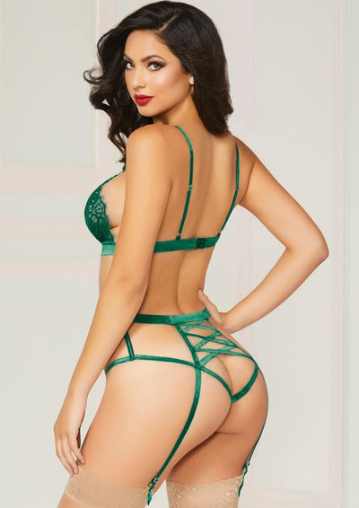Emerald Teddy Set