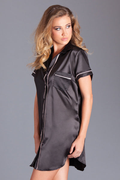 Annie Satin Sleep Shirt