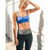 Blue Double Layer Sports / Yoga Bra