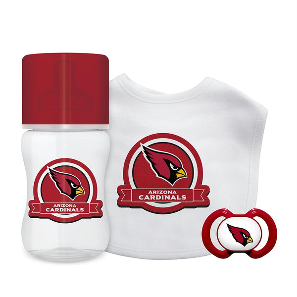 Arizona Cardinals Nfl 3 Piece Infant Gift Set