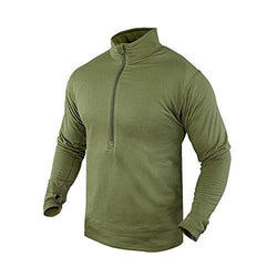 Base Ii Zip Pullover Color- Od Green (small)