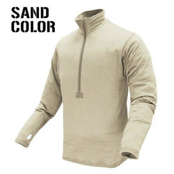 Base Ii Zip Pullover Color- Sand (medium)