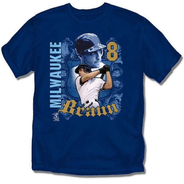 Milwaukee Brewers Mlb Ryan Braun #8