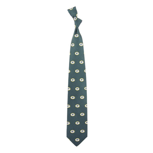 Green Bay Packers Nfl Prep Mens Silk Tie