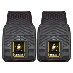 Us Army Armed Forces Heavy Duty 2-piece Vinyl Car Mats (18