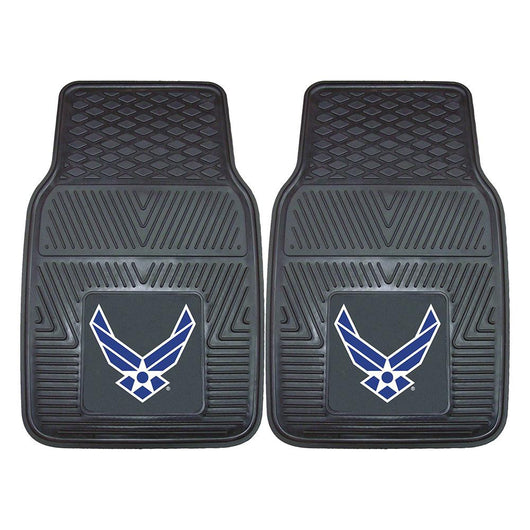 Us Air Force Armed Forces Heavy Duty 2-piece Vinyl Car Mats (18