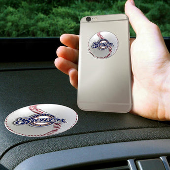 Milwaukee Brewers Mlb Get A Grip Cell Phone Grip Accessory