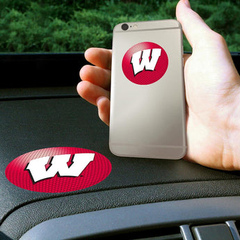 Wisconsin Badgers Ncaa Get A Grip Cell Phone Grip Accessory