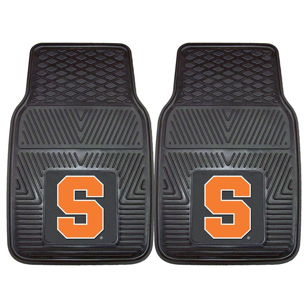 Syracuse Orangemen Ncaa Heavy Duty 2-piece Vinyl Car Mats (18