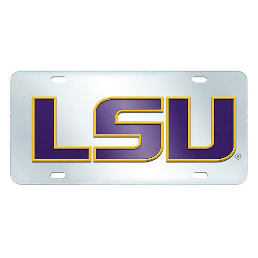 Lsu Tigers Ncaa License Plate-inlaid