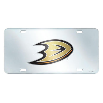 Anaheim Ducks Nhl License Plate-inlaid