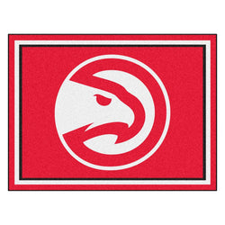 Atlanta Hawks Nba 8ft X10ft Area Rug